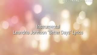 Better Days Video