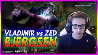 433. Bjergsen Vladimir vs Zed  Mid - March 19th, 2017 - Patch 7.5 Season 7