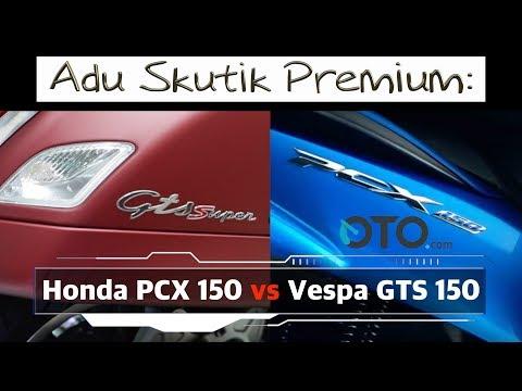 Honda PCX 150 vs Vespa GTS 150 I OTO.com