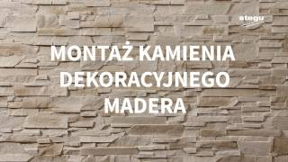 Montaż kamienia dekoracyjnego Madera Stegu (subtitles)