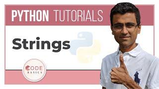 Python Tutorial - 4. Strings
