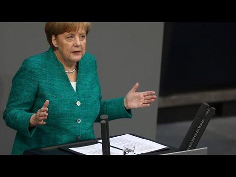 Μέρκελ: «Αύριο ψηφίζει η Γερμανία το τελευταίο σκέλος του ελληνικού προγράμματος»…