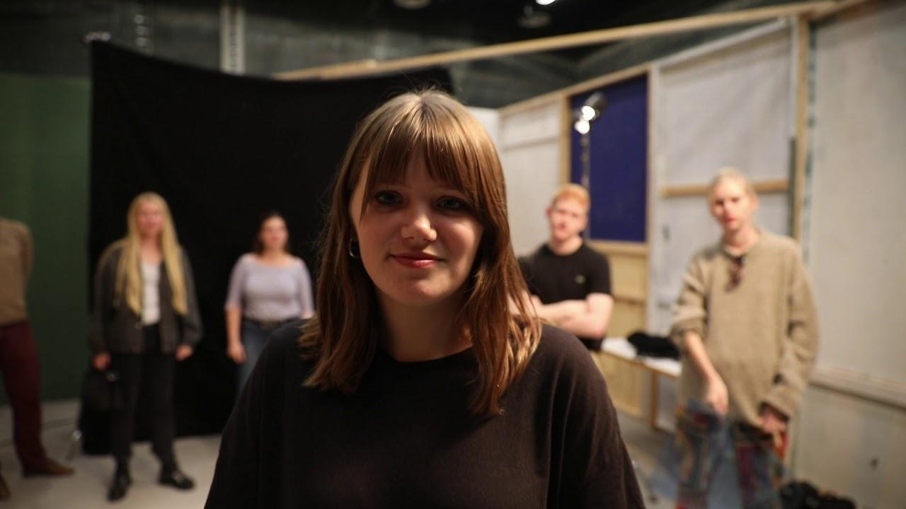 Guided tour at European Film College | Rundvisning på Den Europæiske Filmhøjskole