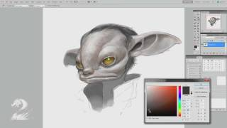 Guild Wars - Behind the Scenes: Drawing an Asura with Matthew Barrett
