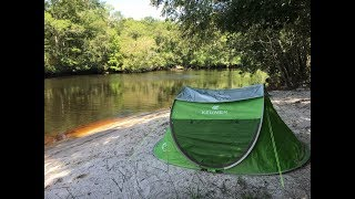 Pop-up Tent by Zomake Review and Demo