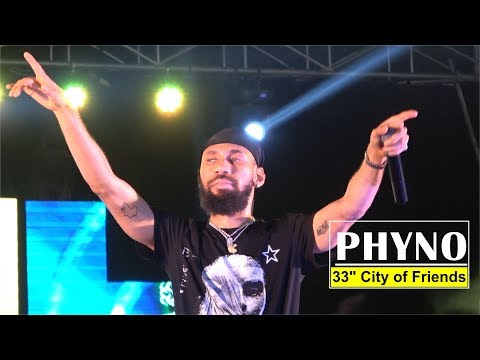 """PHYNO LIVE PERFORMANCE @ 33"""" CITY OF FRIENDS"""
