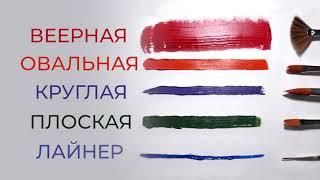 Кисть художественная проф. BRAUBERG ART CLASSIC, синтетика жесткая, овальная, № 12, длинная ручка