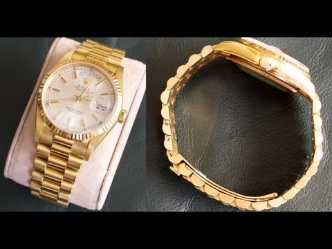 Rolex DAY-DATE with President bracelet – Watch Perfection!