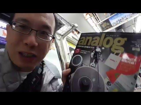 Vinyl-hifi-Turntable biggest shop, Tokyo!