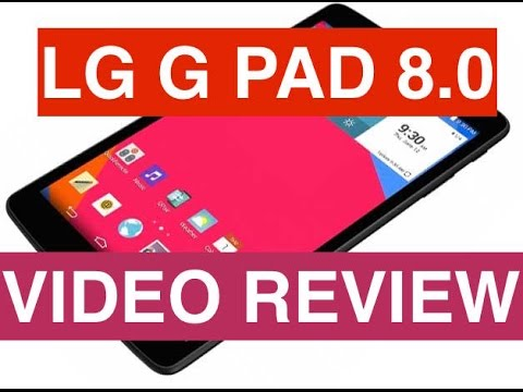 Video review LG G Pad 8.0