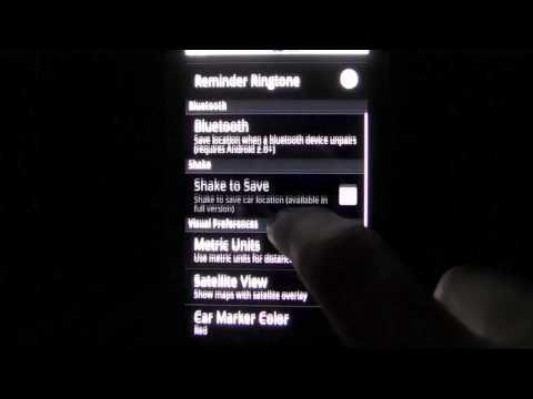 Video of Car Locator