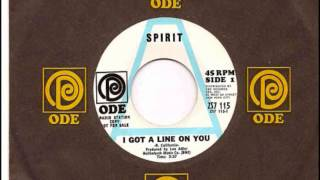 "SPIRIT- ""I GOT A LINE ON YOU""(LYRICS)"