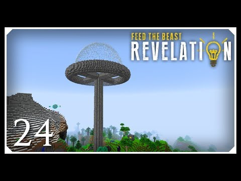 How To Play FTB Revelation | Building With RFTools! | E24
