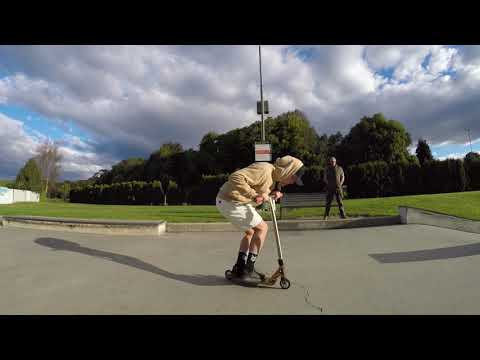 Oamaru Skatepark with some local riders