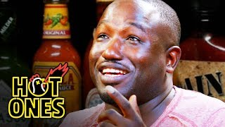 Hot Ones - Hannibal Buress Freestyles While Eating Spicy Wings