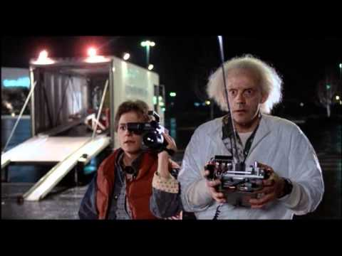 Back To The Future [1985] - The DeLorean