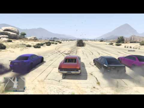 American Muscle For The Win! | GTA5 RAW CLIP