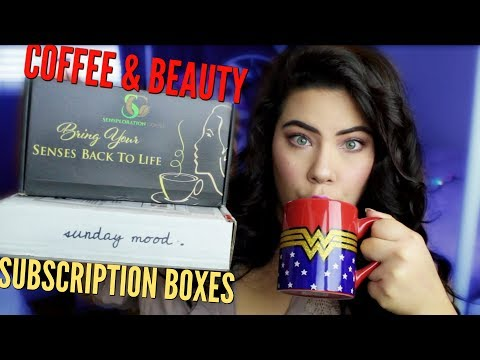 COFFEE & BEAUTY SUBSCRIPTION UNBOXING