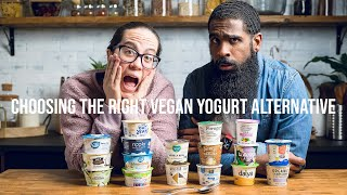 Ultimate Vegan Yogurt Taste Test - 17 brands