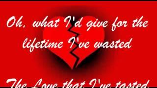 GONE w/lyrics