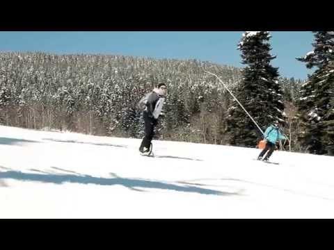 Sur le domaine skiable de Méaudre