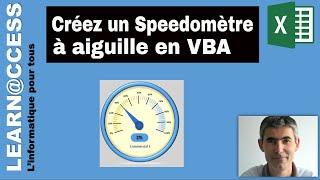 VBA Excel - Comment Créer Un Speedomètre à Aiguille Grâce à Un Petit Code