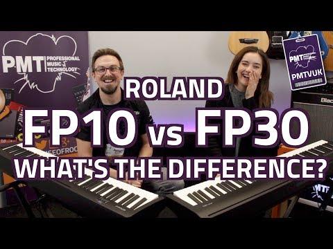 Roland FP-30 Digital Piano in Black
