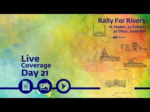 Event Rally for rivers at Bhopal