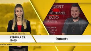 Programajánló / TV Szentendre / 2019.02.21.