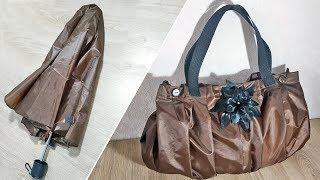 Как сделать для рыбалки из зонтика сумку