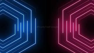 NEON LIGHTS BACKGROUND VIDEO EFFECT HD, Neon lights animation background, neon lights template