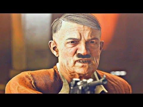 Wolfenstein 2 New Colossus - Hitler Scene