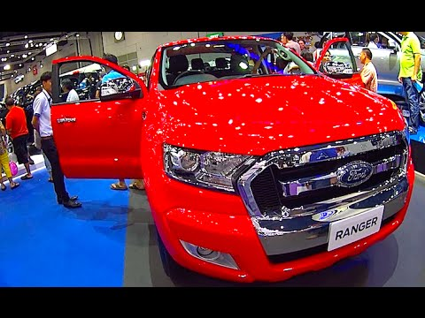 Ford Ranger 2016, Ford Ranger 2017 Video review, New model interior ...