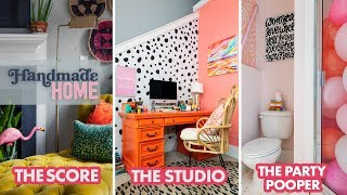 Finding Balance When You're Crazy For Color - My Friend Court - HGTV Handmade Home Tour