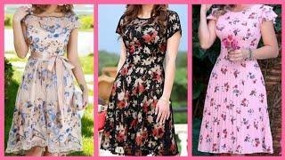 Floral Skater Dresses 2k20