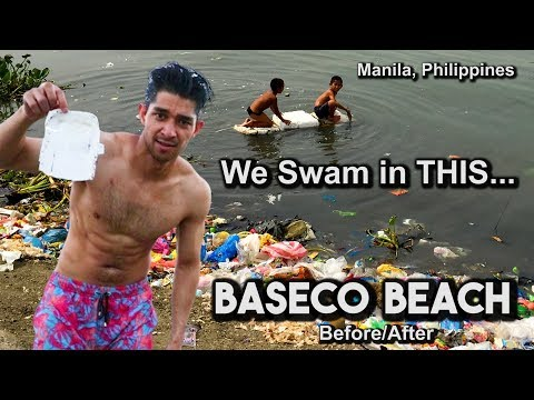 We Swam in Manila's Dirtiest Beach (Baseco Beach)