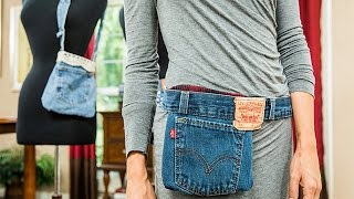 How To - Orly Shanis DIY Denim Fanny Pack - Home & Family