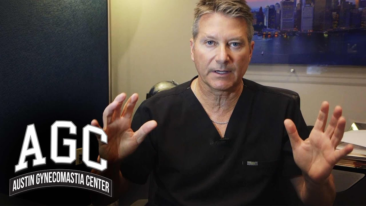 doctor gives answers to common questions about male breast reduction gynecomastia surgery