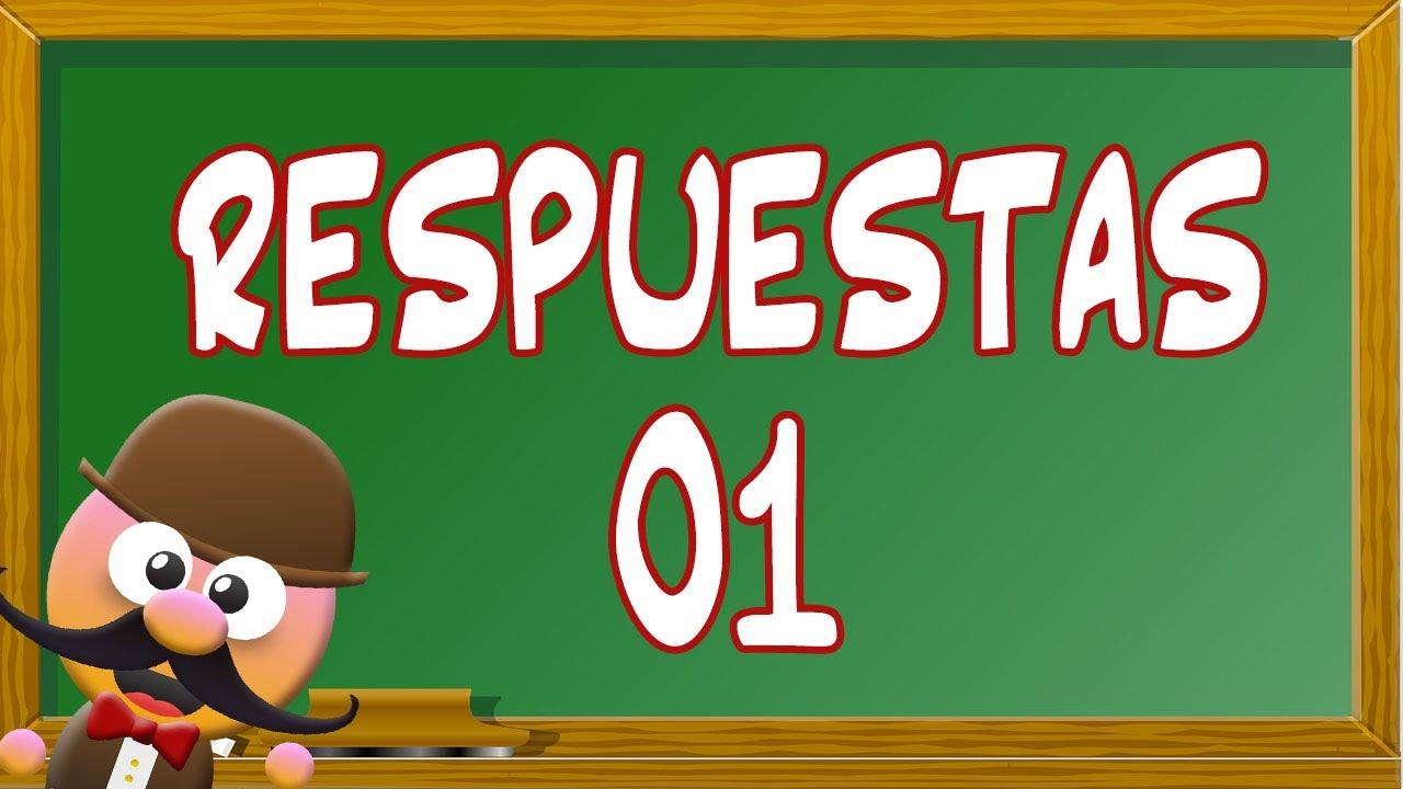 INGLÉS PARA NIÑOS CON MR PEA - RESPUESTAS 01