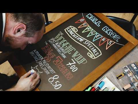 How to Neatly Write on a Chalkboard