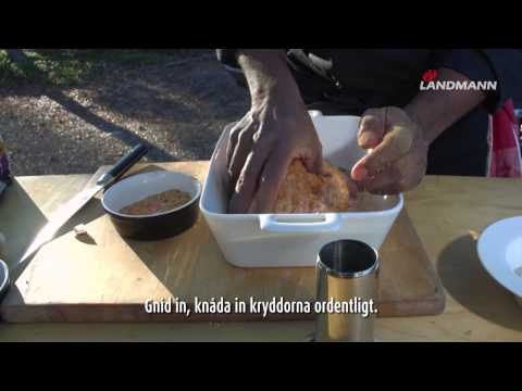 Landmann - Dancing chicken / Beer can chicken