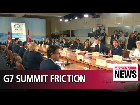 Trump says U.S. won't endorse G7 joint communique