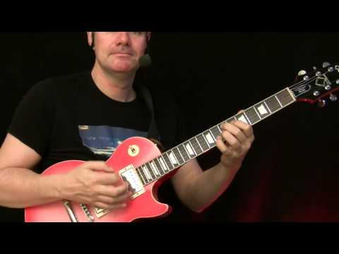 Guitar Lesson : Blues Rock ( SRV Style )