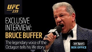 """It's time!"" Bruce Buffer tells his fascinating life story"