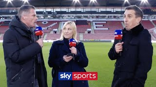 Jamie Carragher & Gary Neville ARGUE over which city is better! 😡   Liverpool vs Manchester