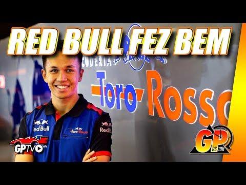 Evolução faz Albon ser melhor do que Kvyat para Red Bull | GP às 10