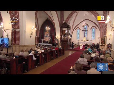 Visite à la Cathédrale catholique Saint-Jacques de Riga (Lettonie)