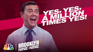 Cold Open: Jake Asks Boyle to Be His Best Man - Brooklyn Nine-Nine