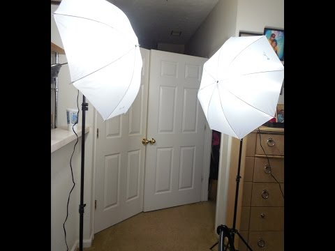 Photography Photo Studio Soft Umbrella Lighting Kit