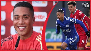 Youri Tielemans Responds to Liverpool Transfer Question   VIDEO